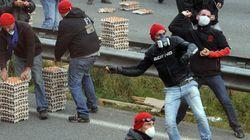 En Bretagne, la tension monte autour d'un portique
