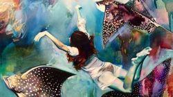 Cette artiste de 16 ans peint ses rêves et le résultat est