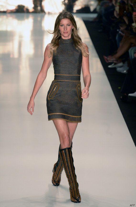 PHOTOS. Gisele Bundchen, la top-modèle brésilienne, quitte officiellement les