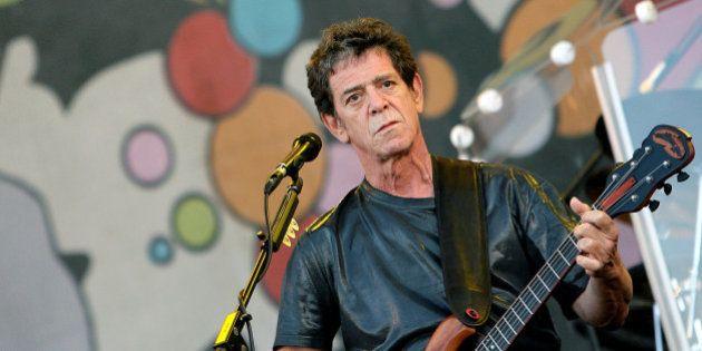 Lou Reed, fondateur du Velvet Underground, est