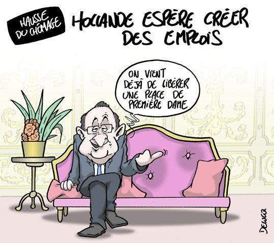 Chômage: Hollande fait des infidélités à ses