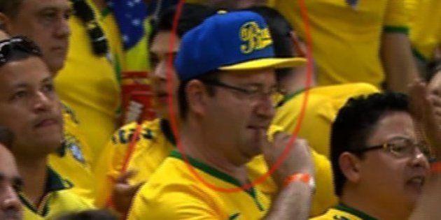 VIDÉO. Brésil - Mexique : un sosie de François Hollande repéré à la Coupe de monde de