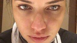 Adriana Lima partage sur Instagram la dure réalité du métier de