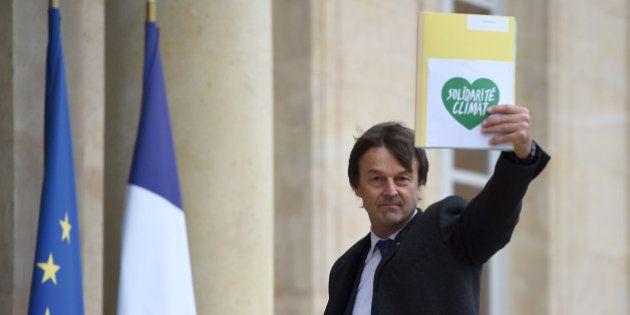 Nicolas Hulot n'entre pas au gouvernement mais remercie François