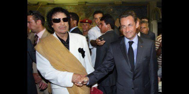 Sarkozy / Kadhafi: une interview de l'ancien dictateur libyen sur le financement de la campagne de