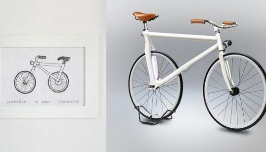 Ces vélos dessinés à main levée ne rouleraient pas loin s'ils