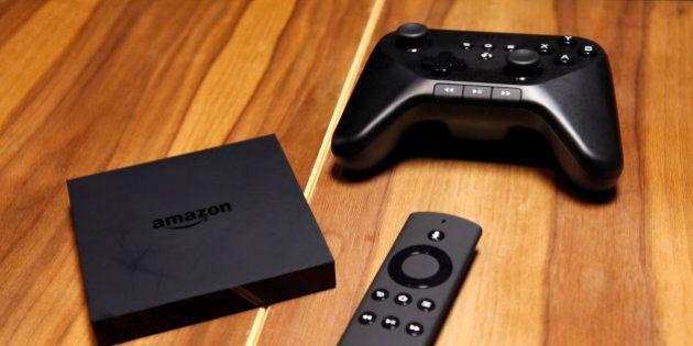 Amazon Fire TV: une box internet présentée, après celles de Google et