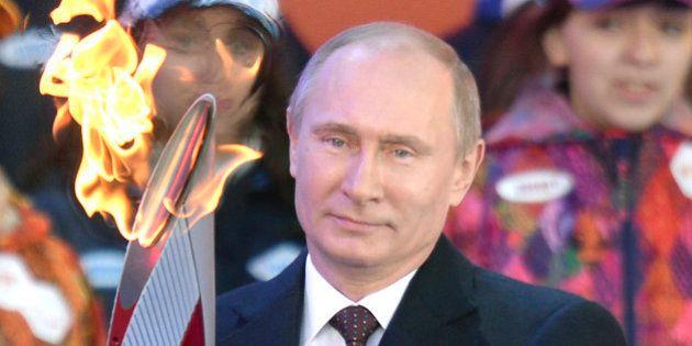 JO de Sotchi : Poutine assure que les sportifs, spectateurs et visiteurs gays se sentiront