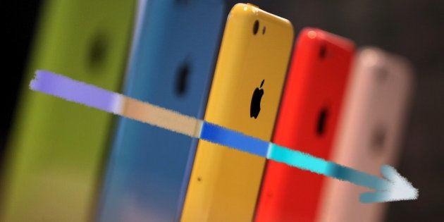 L'iPhone 5C d'Apple dézingué par Wall