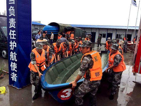 Chine: naufrage d'un navire de croisière transportant plus de 450