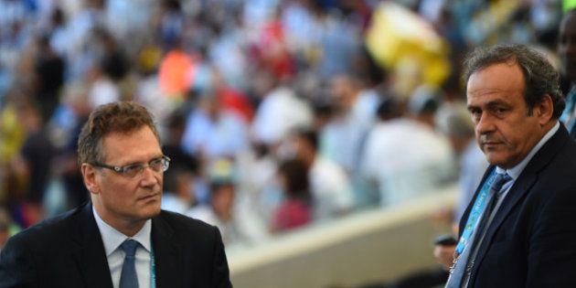 Fifa: Valcke, Platini, Le Graët, Champagne et Lambert, les cinq Français qui ont voix au