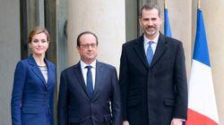 Le roi et la reine d'Espagne reviennent deux mois après le crash de la