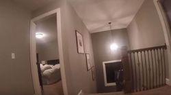 GoPro sur la tête, cet enfant joue à cache-cache avec ses