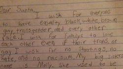 L'émouvante lettre pour la tolérance d'un petit garçon au père