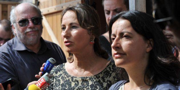 Cécile Duflot et Ségolène Royal s'étrillent sur Twitter à propos de la circulation alternée à