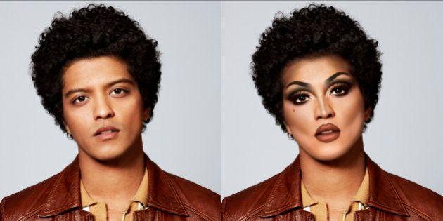 PHOTOS. Ces stars transformées en drag queen par Christopher