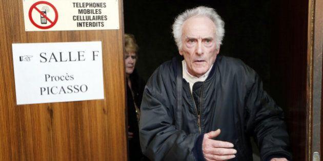 Procès Picasso: l'ex-électricien de l'artiste condamné à 2 ans de sursis pour recel d'œuvres