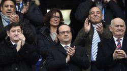 Hollande au Stade de France pour le 1er match depuis les