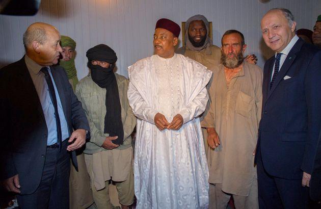 Les 4 otages français au Niger