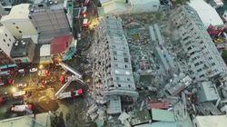 Les images stupéfiantes après le séisme à