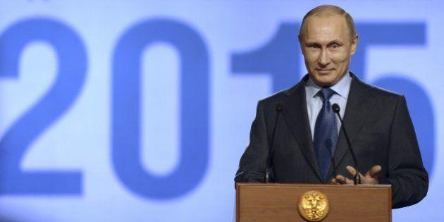Vladimir Poutine appelle à la création d'une union monétaire avec ses