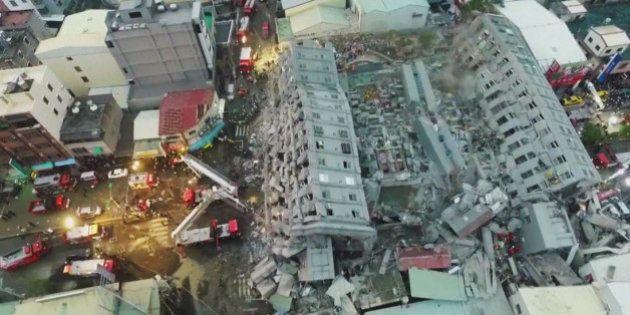Plus de 100 personnes toujours prises au piège après le séisme à Taïwan, au moins 37