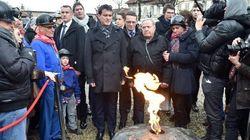 Valls profite de l'hommage aux mineurs morts à Liévin pour vanter le compte