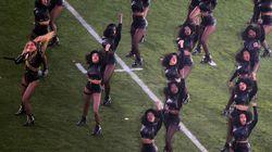 Beyoncé a rendu hommage à un mouvement politique au Super
