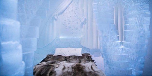 Cet hôtel de glace ressemble à un palais