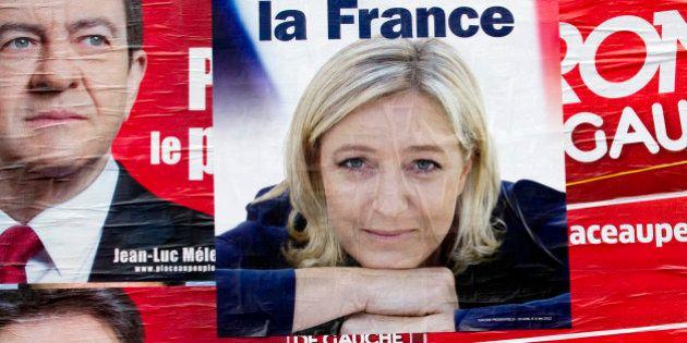 Jean-Luc Mélenchon et Marine Le Pen unis pour saluer la crise politique en
