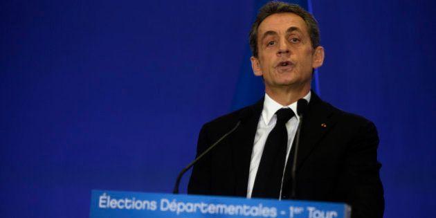 Résultats départementales 2015: l'UMP grand vainqueur du premier tour, le FN et le PS loin