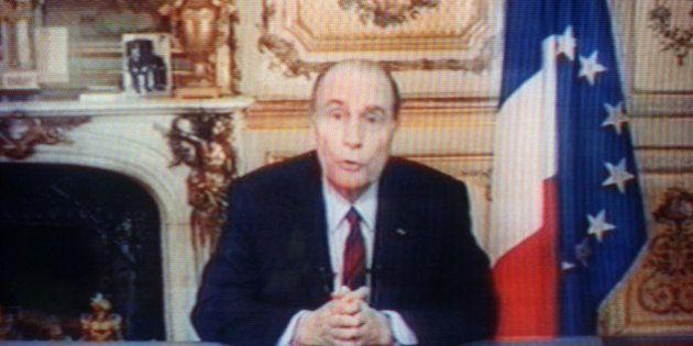 Les voeux présidentiels sont souvent tournés dans le bureau de l'Elysée, mais pas