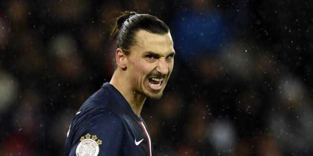 Zlatan Ibrahimovic, en vacances, tue un élan de
