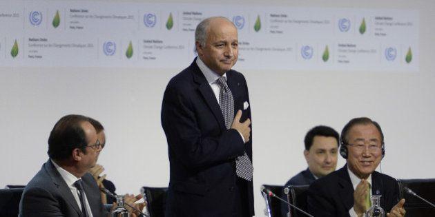 Laurent Fabius à l'heure du bilan: la COP21 et tout le