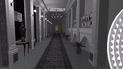 VIDÉO. Les couloirs de 127 classiques de science-fiction revisités par une artiste