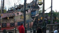 Un enfant grièvement blessé en tombant d'une attraction à Disneyland