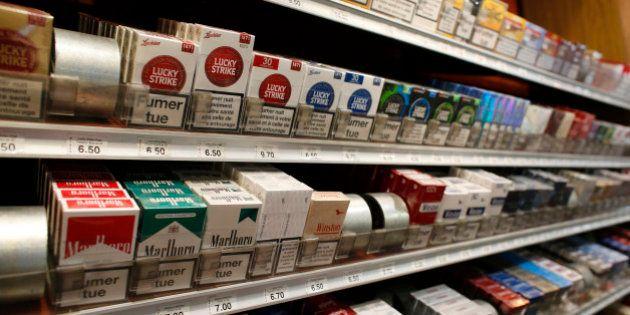 Prix du paquet de cigarettes: pour être