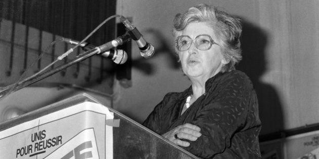 Mort de Simone Iff, féministe à l'initiative du