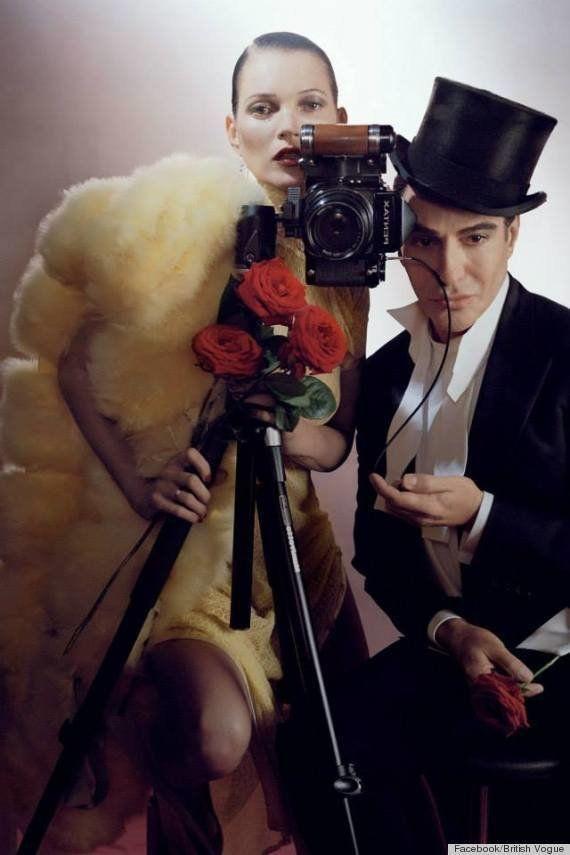 PHOTO. John Galliano et Kate Moss posent pour le Vogue