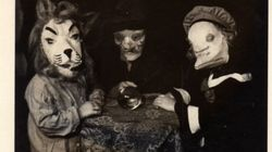 Les costumes d'Halloween il y a 100