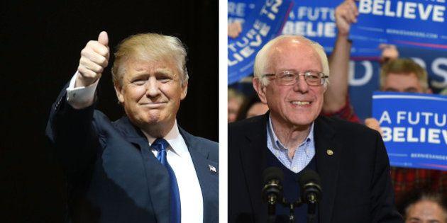 Donald Trump et Bernie Sanders remportent haut la main la primaire du New