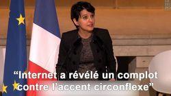 Le discours plein d'humour de Najat Vallaud-Belkacem face aux théories du