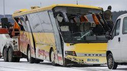 Deux adolescents morts dans un accident d'un bus scolaire dans le