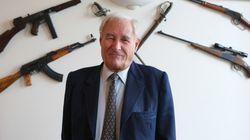 L'écrivain Gérard De Villiers, l'auteur des