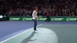 Quand Zlatan joue au tennis avec