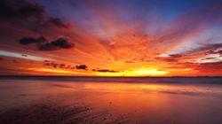 PHOTOS. Aurores boréales, arcs-en-ciel, couchers de soleil : quatre merveilles visibles dans la nature pour célébrer l'année...