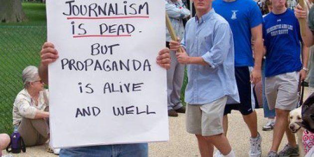 Le journalisme est-il condamné à