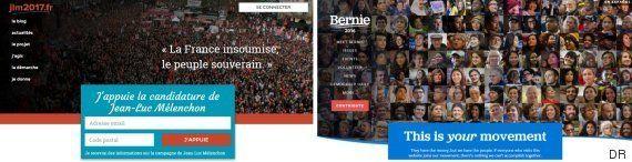NationBuilder, la plateforme que Jean-Luc Mélenchon a empruntée à Bernie Sanders mais pas