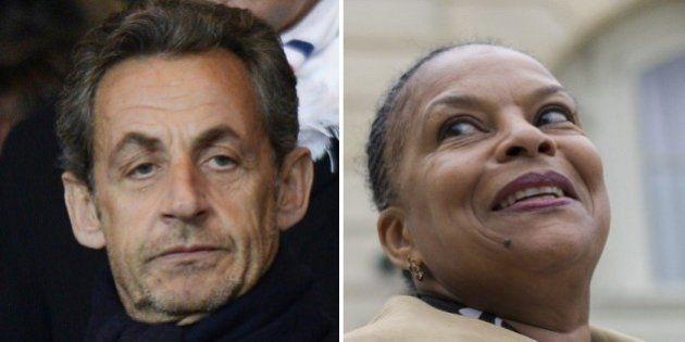 Le livre de Christiane Taubira se vend mieux que celui de Nicolas Sarkozy sur une