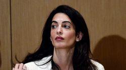 Amal Clooney interdite d'entrer en Egypte? Les autorités